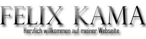 Felix Kama Webseite